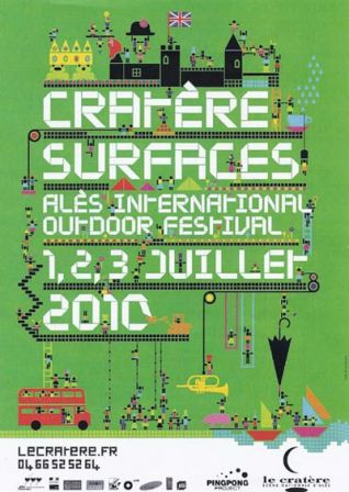Cratère / Surfaces 2010